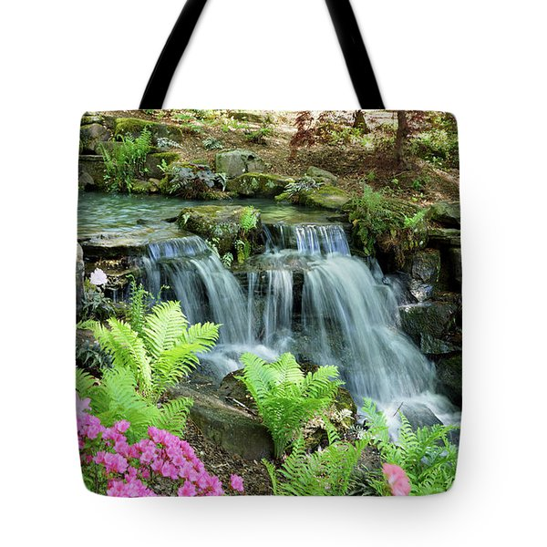Mini Waterfall Tote Bag