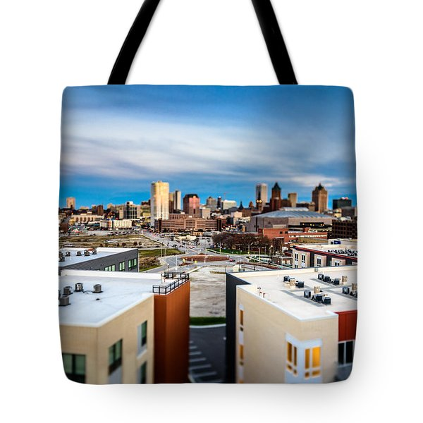 Miniature Milwaukee Tote Bag