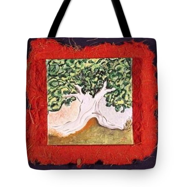 Miniature. Mr. Tree. Imaginaryscape Tote Bag