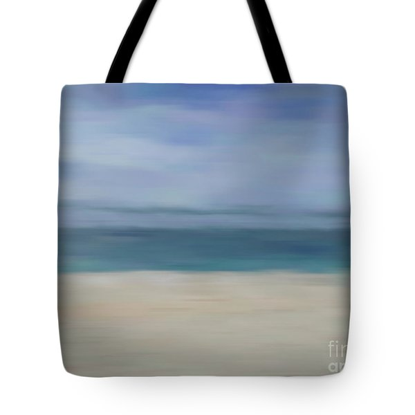 Tote Bag featuring the photograph Minimal Beach by Andrea Anderegg
