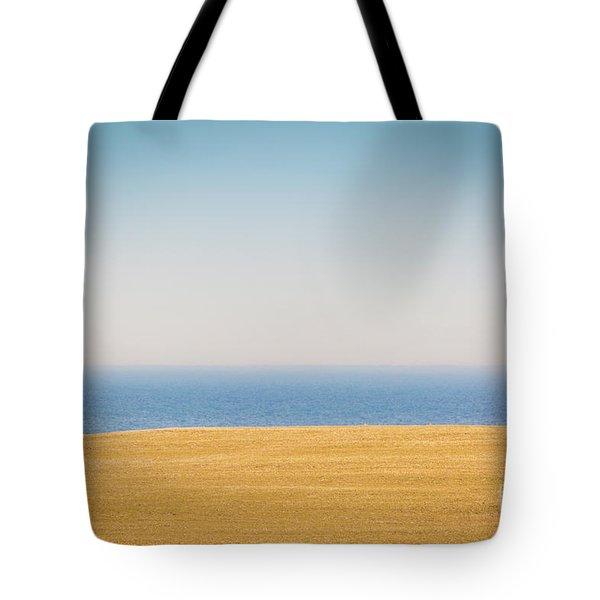 Minimal Lake Ontario Tote Bag