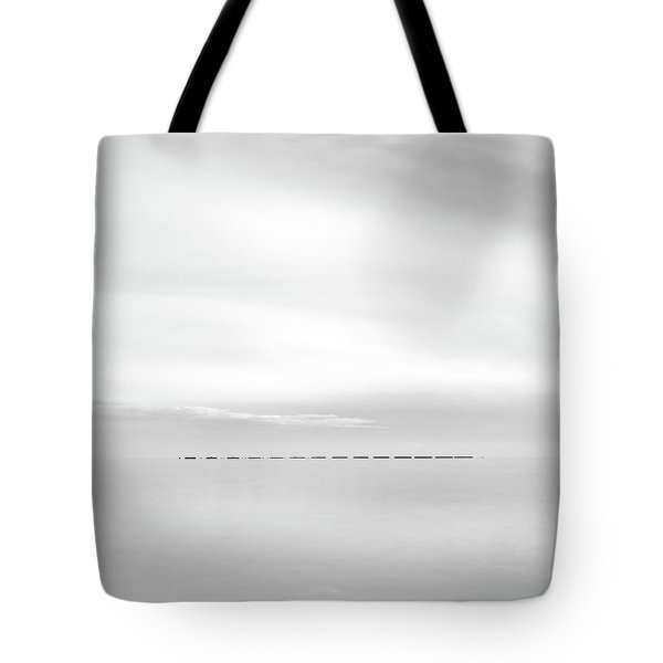 Minimal Sea Tote Bag