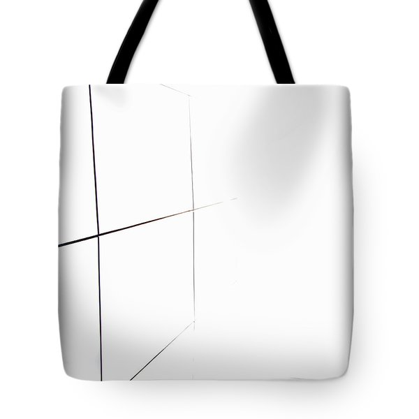 Tote Bag featuring the digital art Minimal Squares by Kathleen Illes