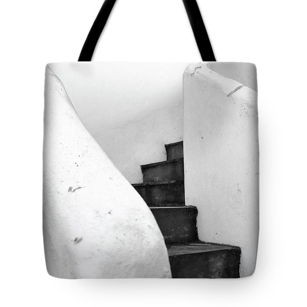 Minimal Staircase Tote Bag