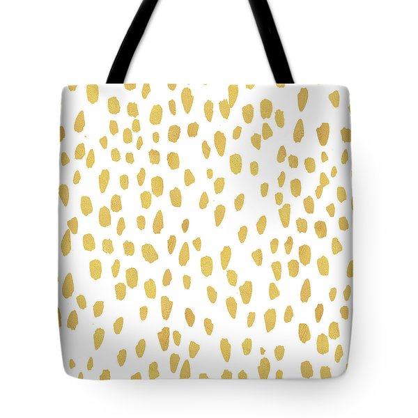Minimalist Is Gold Tote Bag