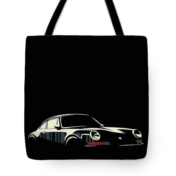 Minimalist Porsche Tote Bag