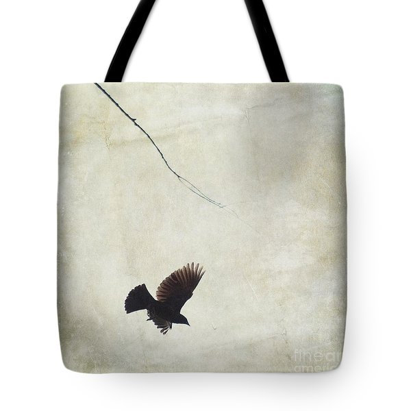 Minimalistic Bird In Flight  Tote Bag by Aimelle