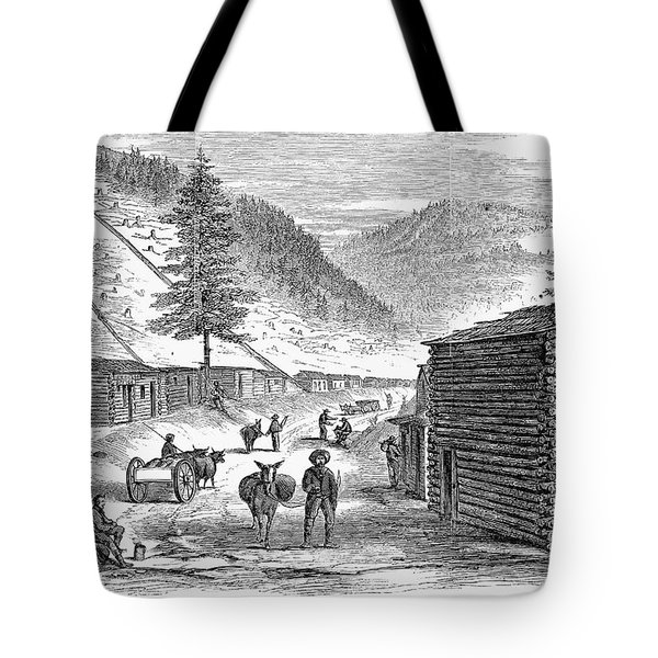 Mining Camp, 1860 Tote Bag by Granger
