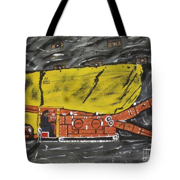 Coal Mining  Tote Bag by Jeffrey Koss