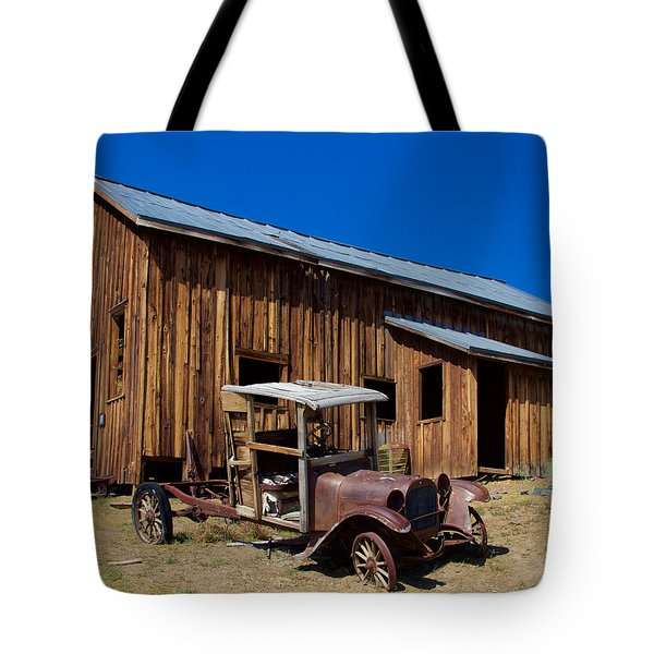 Mining Relic Tote Bag