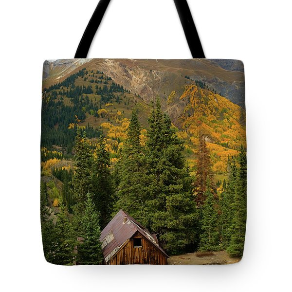 Mining Shack Tote Bag