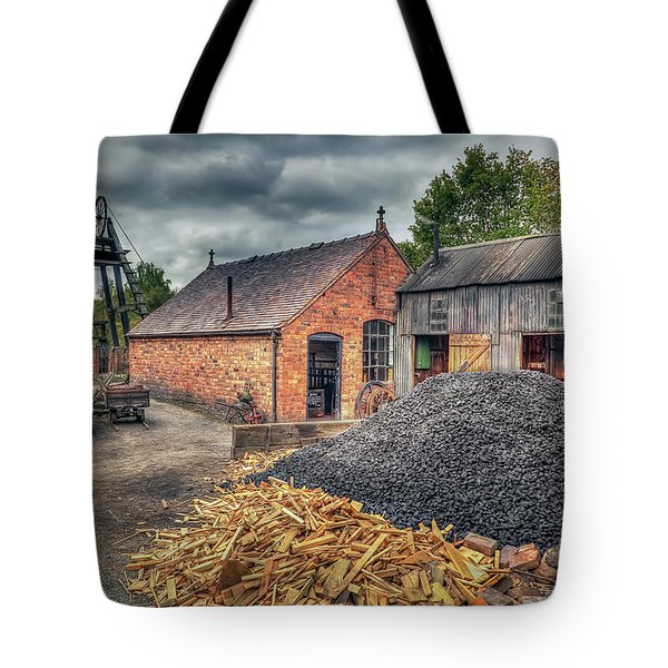 Tote Bag featuring the photograph Mining Village by Adrian Evans