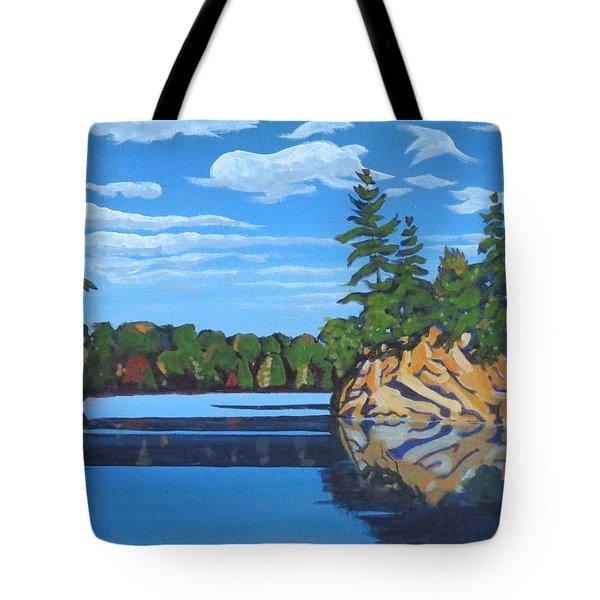 Mink Lake Gap Tote Bag