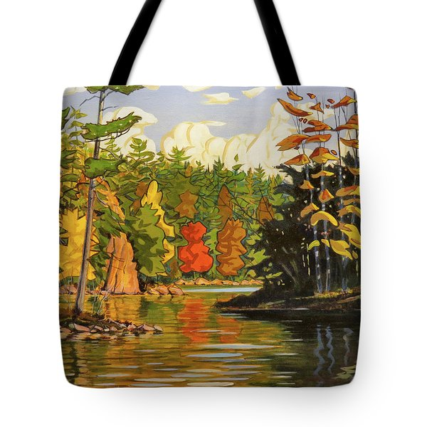 Mink Lake Narrows Tote Bag