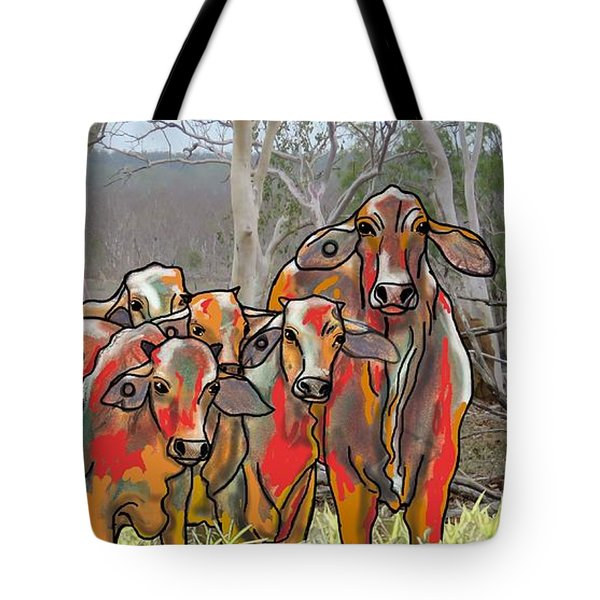 Minnamooooo...cows Tote Bag