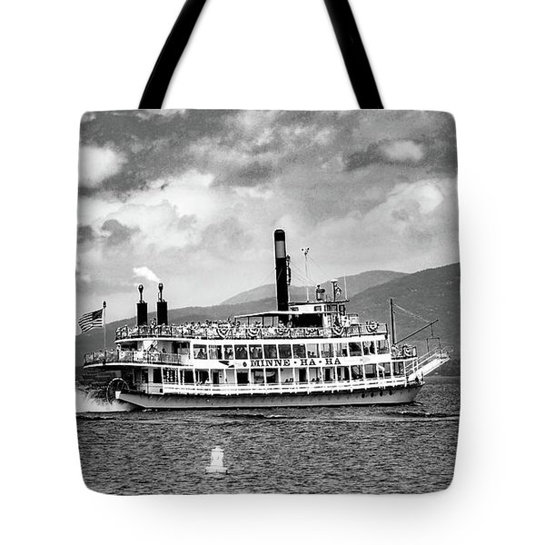 Tote Bag featuring the photograph Minne Ha Ha Memories by Kendall McKernon