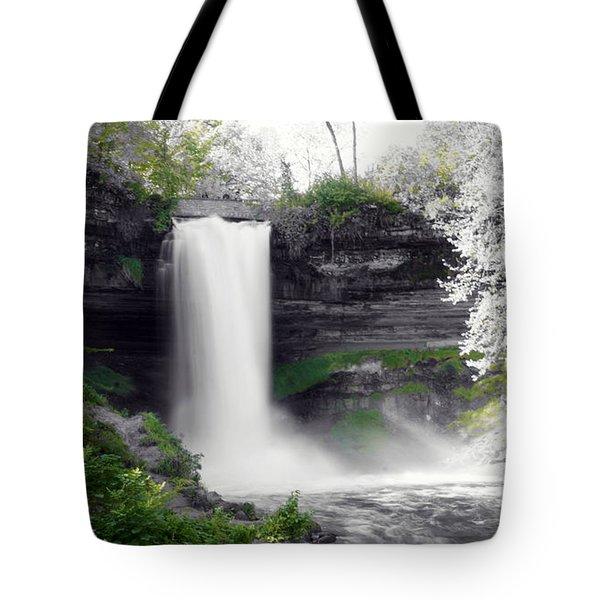 Minne Haha Falls Tote Bag