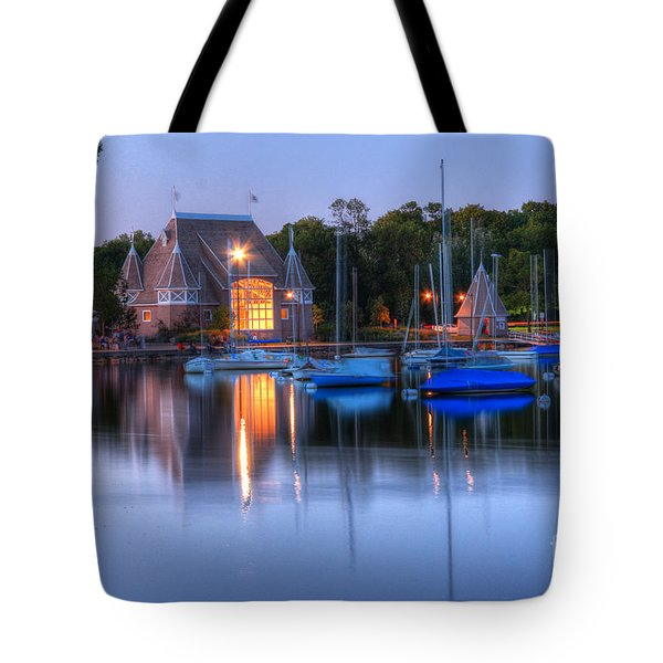 Minneapolis Skyline Photography Tote Bag