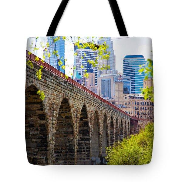 Minneapolis Stone Arch Bridge Photography Seminar Tote Bag