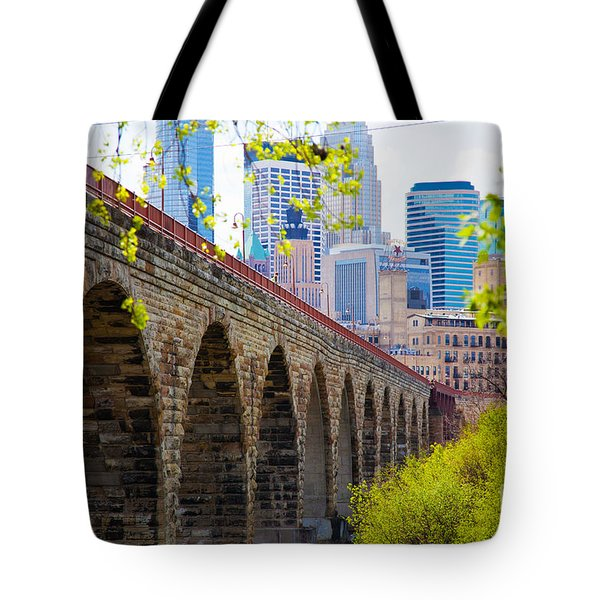 Minneapolis Stone Arch Bridge Photography Seminar Tote Bag