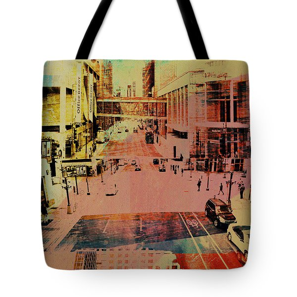 Minneapolis Streets 1 Tote Bag