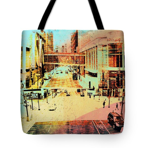 Minneapolis Streets 2 Tote Bag