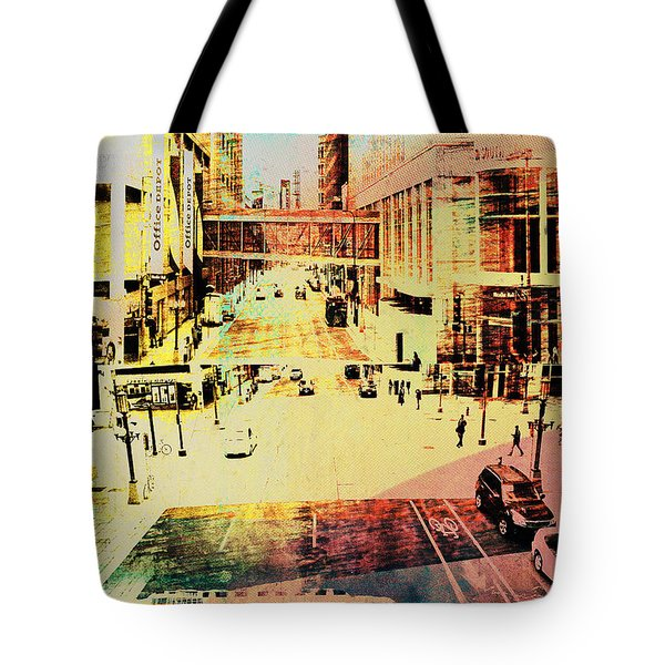 Minneapolis Streets 3 Tote Bag