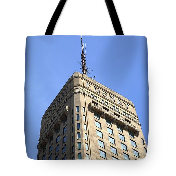 Tote Bag featuring the photograph Minneapolis Tower 6 by Frank Romeo