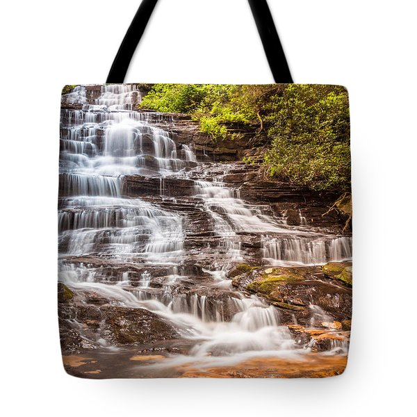 Minnehaha Falls Tote Bag by Sussman Imaging