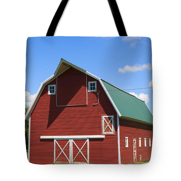 Minnesota Barn Tote Bag