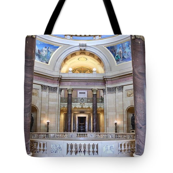 Minnesota House Doors Tote Bag
