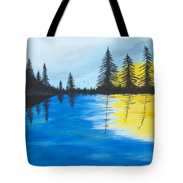 Minnesota Lakes Tote Bag by Christie Nicklay