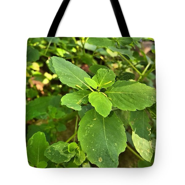 Minnesota Plant Life Tote Bag by Lisa Piper