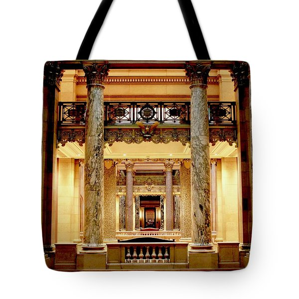 Minnesota Capitol Senate Tote Bag