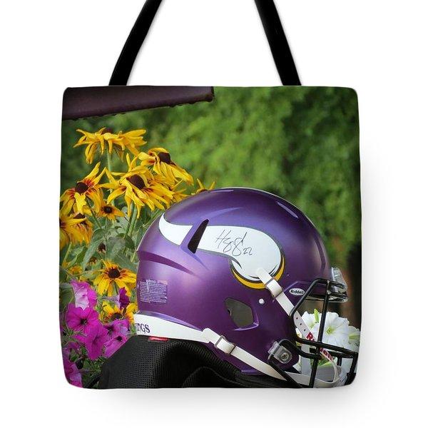 Minnesota Vikings Helmet Tote Bag