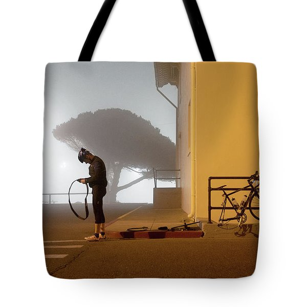 Minor Setback Tote Bag by Daniel Furon
