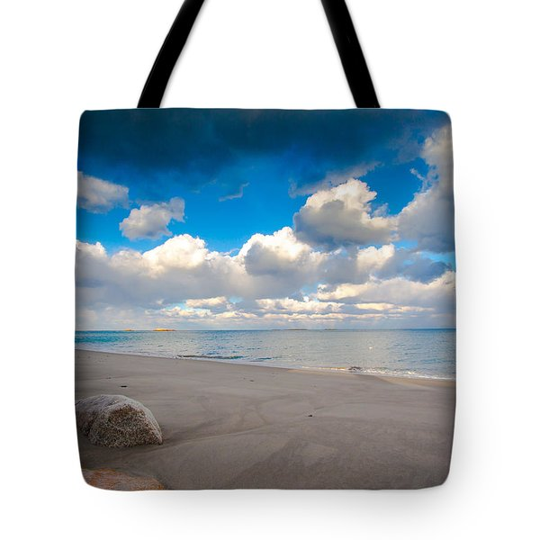 Minot Beach In Scituate Massachusetts  Tote Bag