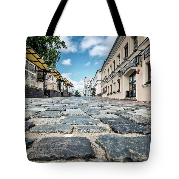 Minsk Old Town Tote Bag