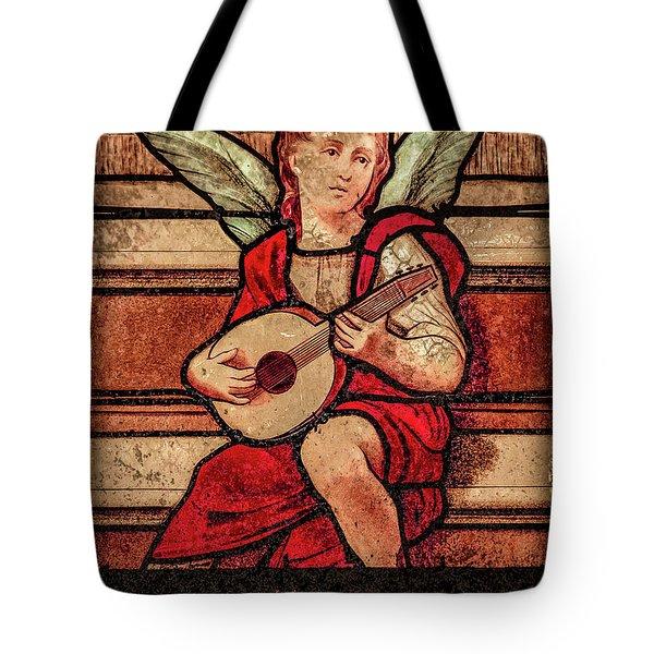 Paris, France - Minstrel Angel Tote Bag