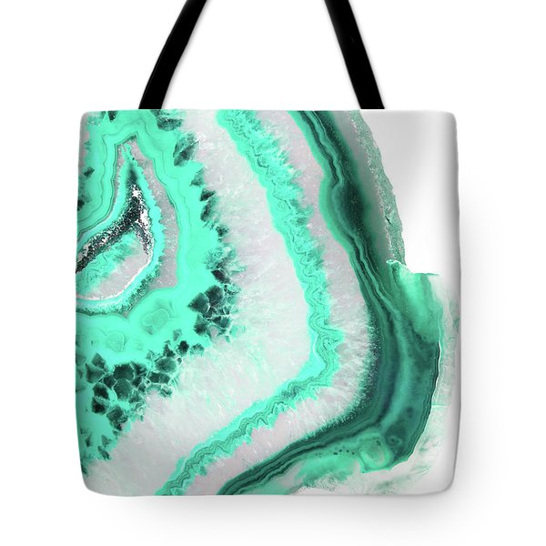 Mint Agate Tote Bag