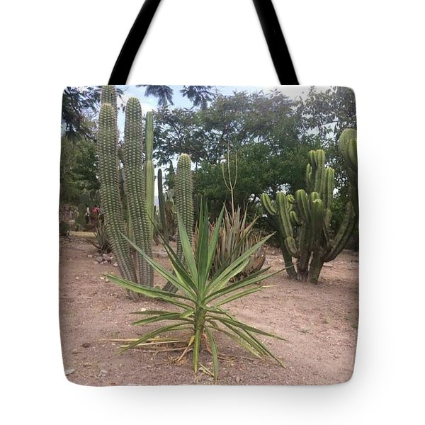 Tote Bag featuring the photograph Minus A Cantina by Cindy Charles Ouellette