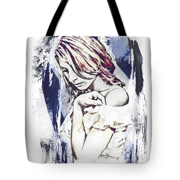 Tote Bag featuring the digital art Minutes by Galen Valle