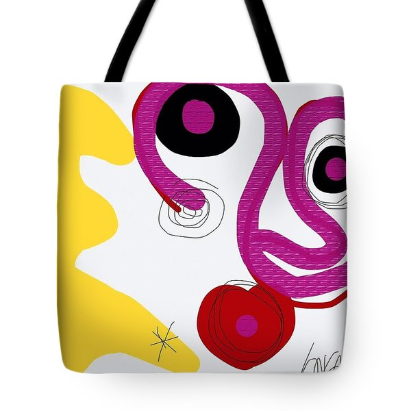 Miro Miro On The Wall Tote Bag