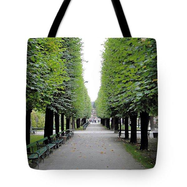 Mirabell Garden Alley Tote Bag