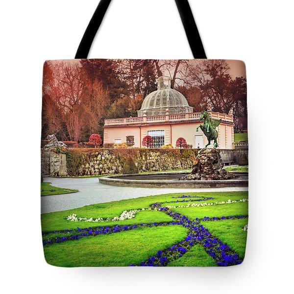 Mirabell Gardens Salzburg  Tote Bag