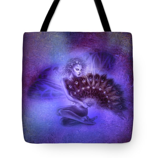 Tote Bag featuring the painting Mirabella by Ragen Mendenhall