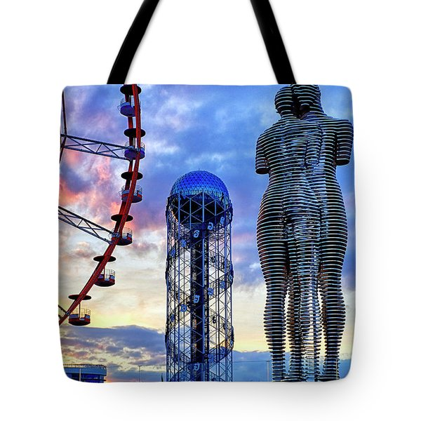 Tote Bag featuring the photograph Miracle Park by Fabrizio Troiani