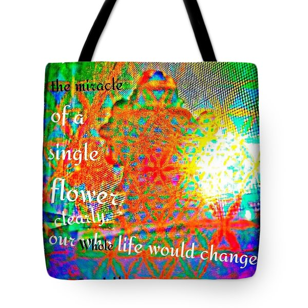 Miracles Tote Bag