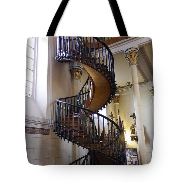 Tote Bag featuring the photograph Miraculous Stairs by Kurt Van Wagner