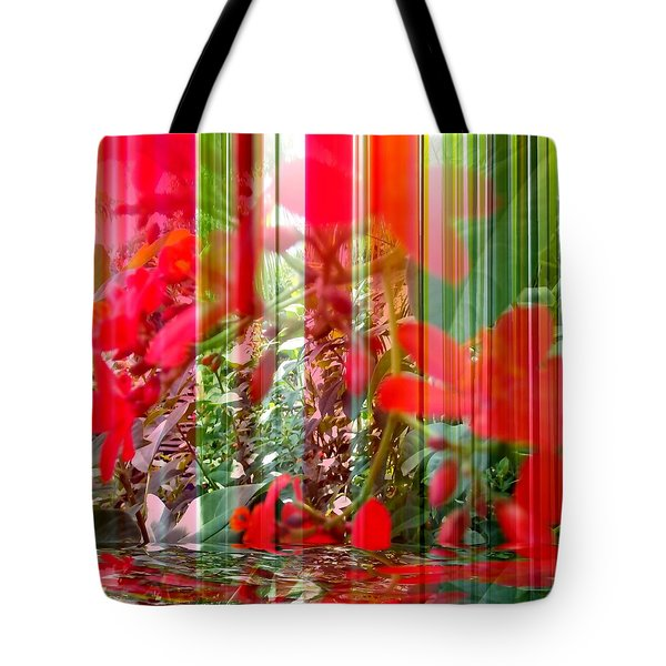 Tote Bag featuring the digital art Mirage by Carolyn Repka